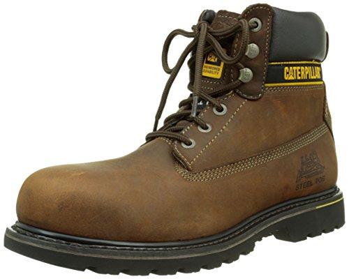 Caterpillar Herren Holton SB Chelsea Boots Dunkelbraun (Dark Brown)