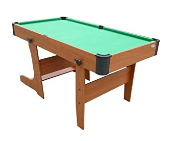 Gamesson 5 Foot L Foot Folding Pool Table
