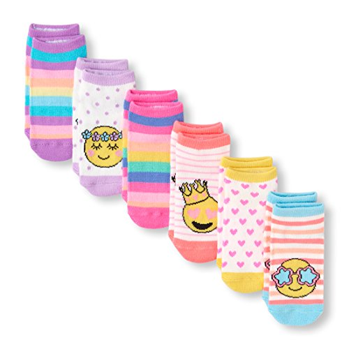 The Children's Place Baby Boys Ankle Socks (Pack of 6), MULTI CLR 6115 12-24MONTH