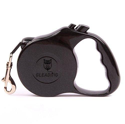Petits-chiensLaisse-rtractable-pour-chien-Gleading-Parfaite-pour-toutes-les-tailles-de-chien-jusqu-15kg-extensible-jusqu-presque-5-mtres-ruban-solide-en-Nylon-botier-en-ABS-de-haut-de-gamme-ressort-ha