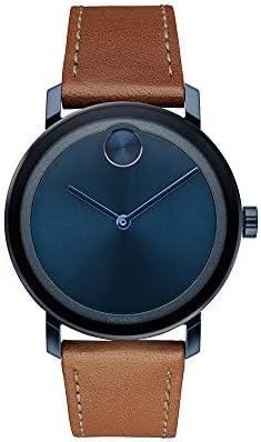 Movado Evolution Blue Pvd Watch (Model: 3600520)