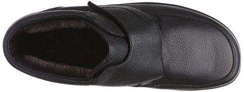 Ganter ERIC-STIEFEL, Weite H - botas de caño bajo de cuero hombre negro - Schwarz (schwarz 0100)