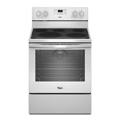 Whirlpool Freestanding Range (6.4 Cu. Ft. Freestanding Electric Range With Aqualift SELF-CLEAN...)