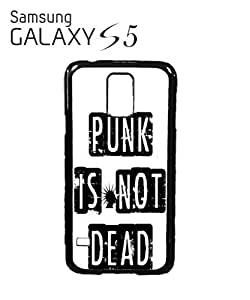 Punk is Not Dead Mobile Cell Phone Case Samsung Galaxy S5 White
