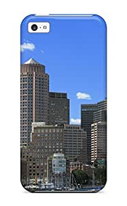 Best 9952181K87106232 New Cute Funny Boston City Case Cover/ ipod touch4 Case Cover
