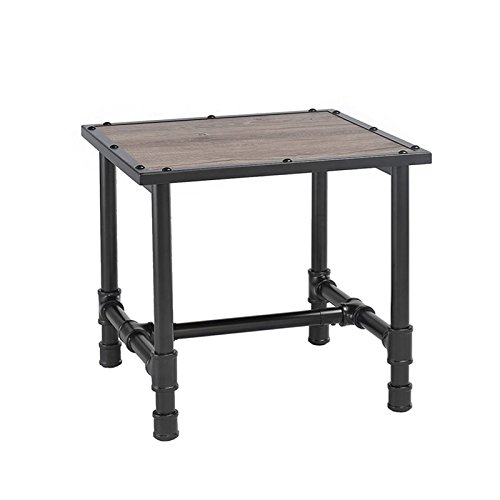 Rustic Occasional Tables (ACME Furniture 82197 Caitlin End Table, Rustic Oak & Black)
