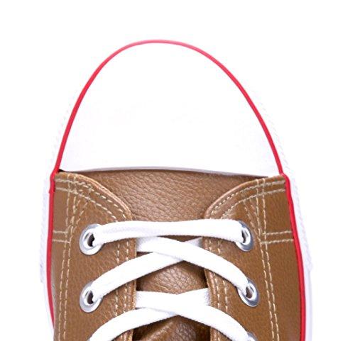 Schuhtempel24 Damen Schuhe High Sneaker Flach Khaki