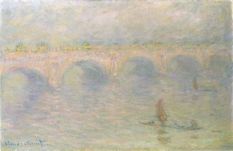 Rent A Fog Machine (Oil Painting 'Waterloo Bridge In The Fog, 1901 By Claude Monet' Printing On High Quality Polyster Canvas , 18x28 Inch / 46x70 Cm ,the Best Bathroom Decor And Home Artwork And Gifts Is This Vivid Art Decorative Prints On Canvas)