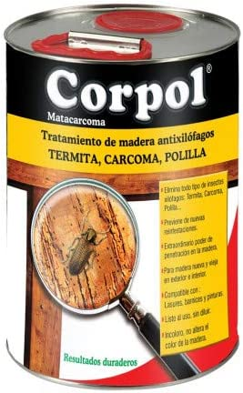 TODOPETS CORPOL - Insecticida Carcoma Lata Corpol 5 L