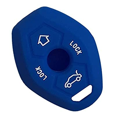 Rpkey Silicone Keyless Entry Remote Control Key Fob Cover Case protector For BMW 3 5 7 Series M3 M5 M6 X3 X5 Z3 Z4 Z8 LX8FZV: Automotive