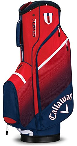 Callaway Golf 2018 Chev Cart Bag Navy/Red/White