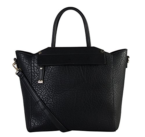 diophy-womens-faux-leather-top-handles-handbag-os-2983-black