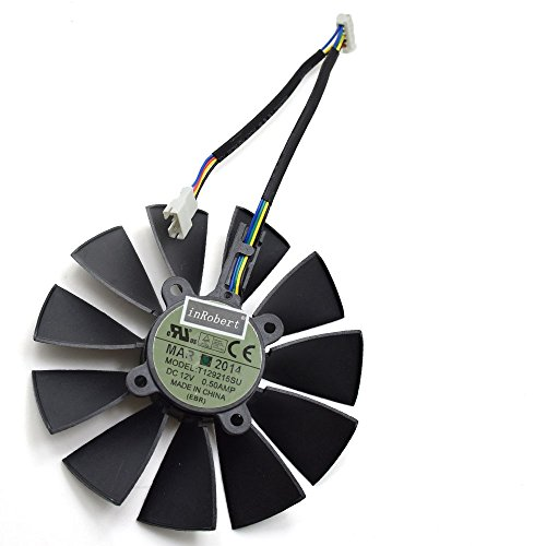 inRobert 95mm 5 pin T129215SU Cooling Fan for ASUS for sale  Delivered anywhere in USA