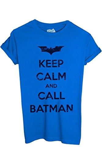 T-Shirt Keep Calm Call Batman - Film By Mush Dress Your Style