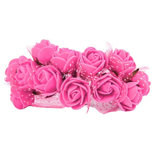 Aosreng 144Pcs Mini PE Foam Roses Multi-Use Artificial Flower Heads Handmade DIY Wreath Wedding Decoration Home Garden Supplies 9 from Aosreng