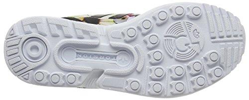 Sneakers Black Flux core Adidas ftwr Core Femme Zx Black White qExwTvg