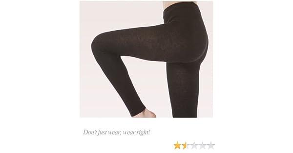 4201660eb25eb Amazon.com: Angora wool leggings UNISEX Ecru Tg. L: Health & Personal Care