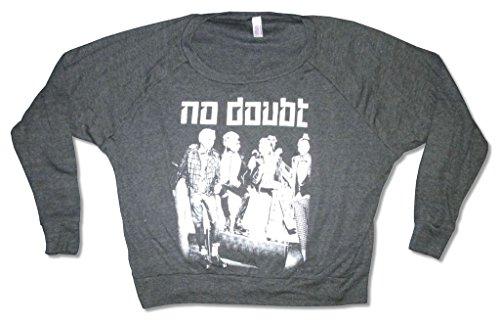 No Doubt Rasta Pose Juniors Black Long Sleeved Shirt (S)