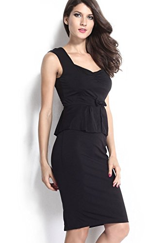 Pinkyee PKY1509150772 - Vestido para mujer Black1