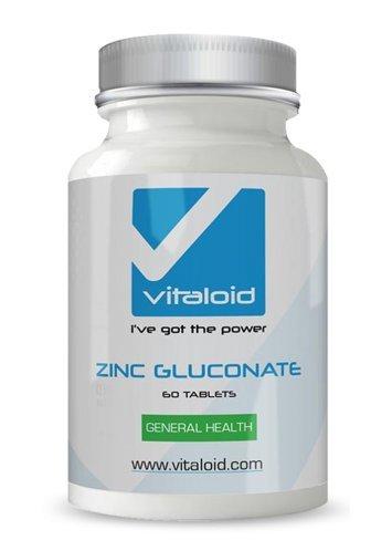 Gluconato de Zinc Vitaloid - 60 Comprimidos - El Gluconato ...