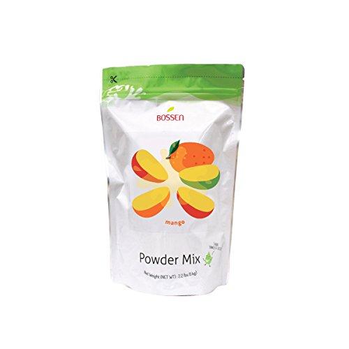 Bossen Bubble Tea Powder Mix -Mango - 2.2 Pound