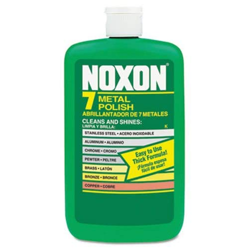Reckitt Benckiser Noxon 7 Metal Polish, Liquid, 12 oz. Bottle - Includes 12 per case. by Reckitt (Image #1)