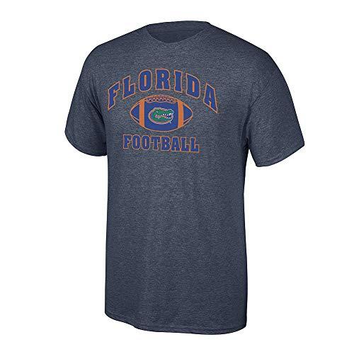 Elite Fan Shop NCAA Men's Florida Gators Football T-shirt Dark Heather Florida Gators Dark Heather X Large
