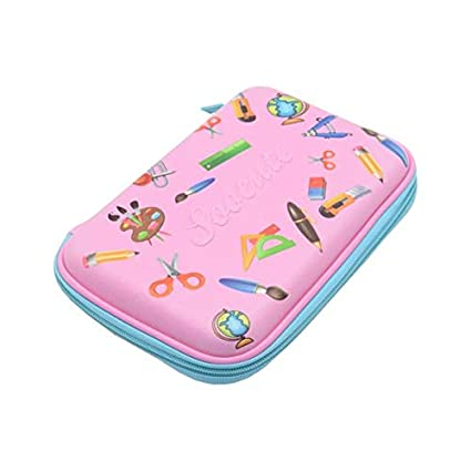 Amazon.com : | Pencil Cases | Unicorn Cake Pencil case ...