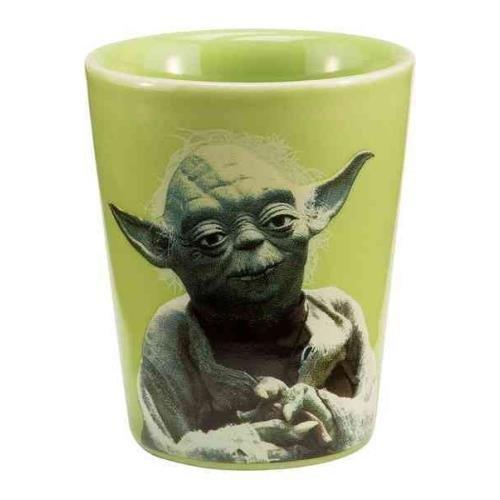 Ceramic Yoda (Star Wars Yoda Ceramic Shot Glass)
