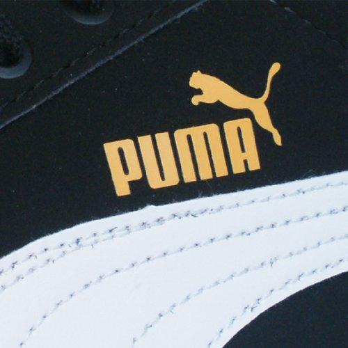 Puma Glyde Lite Lo NBK - Caña baja de cuero unisex Schwarz / Weiß