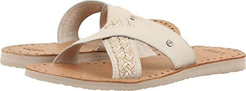 UGG Women's Lexia Flat Sandal, Canvas, 9 US/9 B US Canvas Lined Sandals