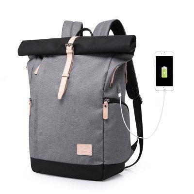 Mochila para ordenador portátil, tres colores, opcional, ultra delgada, antirrobo, resistente
