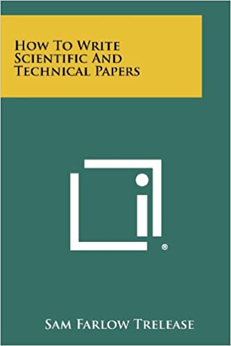 how to write technical papers