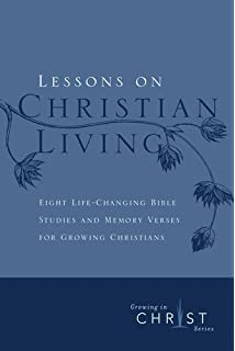 growing in christ a thirteen week follow up course for new and