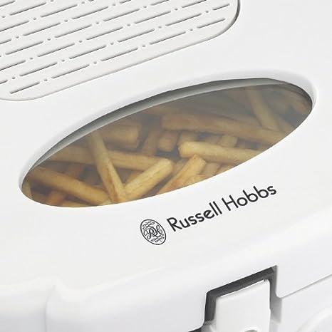 Russell Hobbs 17892 Solo 2.5L 1800W Color blanco - Freidora (2,5 L, Solo, Color blanco, 1800 W): Amazon.es: Hogar