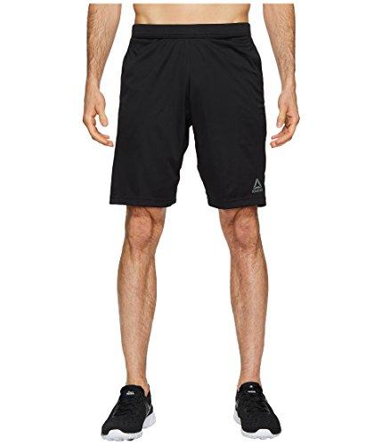 Reebok Drawstring Shorts (Reebok Men's Speedwick Short, Black, Large)