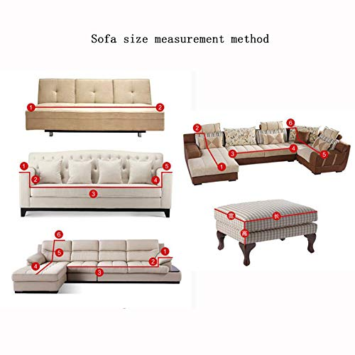 YUNJIE Stretch Couch Covers, Anti-Slip Sofa slipcovers, Sofa slipcovers 1-Piece, Sofa Covers for Leather Sofa Furniture Protector All Season sectional-M Single-Person Sofa by YUNJIE (Image #1)