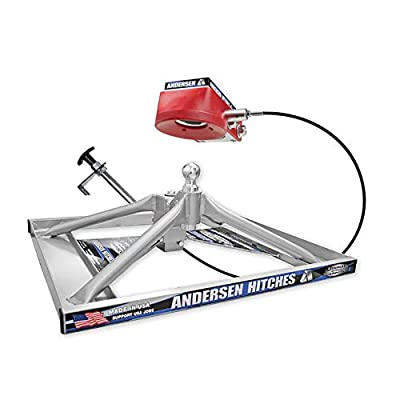 Andersen Lowered Aluminum Ultimate 5th Wheel Connection 2 Toolbox version: Automotive