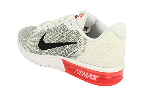 Herren Nike Air Max aufeinanderfolgend 2 Weiß Turnschuhe 852461 116