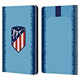 Official Atletico Madrid Home 2018/19 Crest Kit Leather Book Wallet Case Cover Compatible for Kindle Paperwhite 1/2 / 3