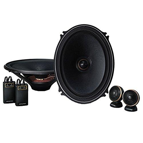 Alpine 7 x 10 inch (18 x 25 cm) Separate 2 way speaker X-...