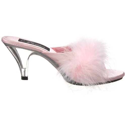 Pleaser Mules 8159 Satin pour Pink Femme YP4q5rY