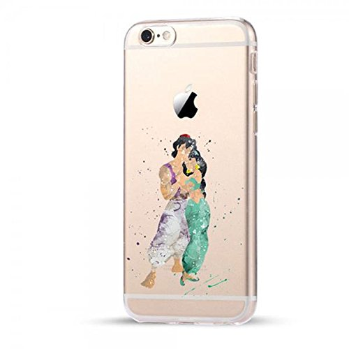 Disney Aladdin Schutzhülle Appel Iphone Serie transparent TPU Case Appel Iphone 5/5S/5SE Hülle -AcAccessoires (Iphone 5/5S/5SE) #0033