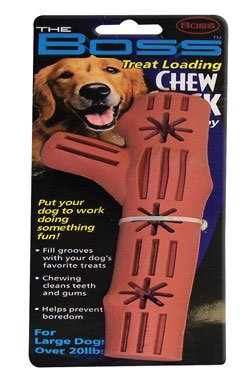 Boss Pet Products 02671 Fillable Chew Stick Dog Toy, My Pet Supplies