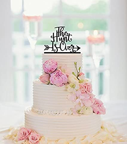 Amazon the hunt is over cake topper deer wedding cake topper the hunt is over cake topper deer wedding cake topper wedding cake topper junglespirit Gallery