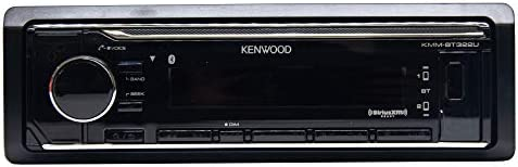 Kenwood kmm-bt322車メディアプレーヤーBluetooth ( no CD and No Sirius )