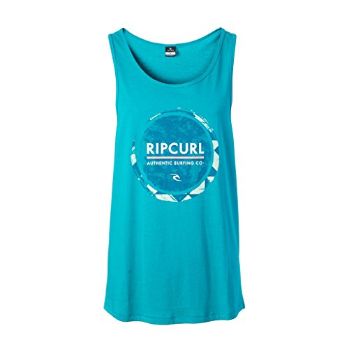 Rip Curl Fresh Eclipse Tank Camiseta, Lake blue, s