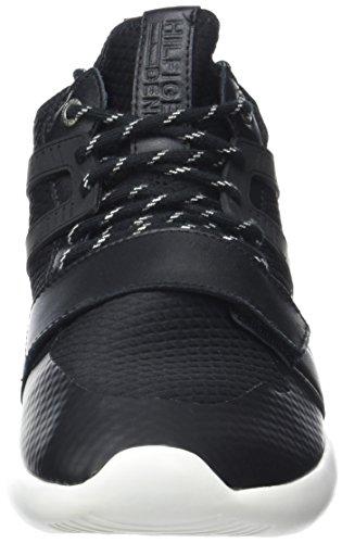 Tommy Hilfiger B2385olt 1c, Scarpe da Ginnastica Basse Uomo Nero (Black 990)