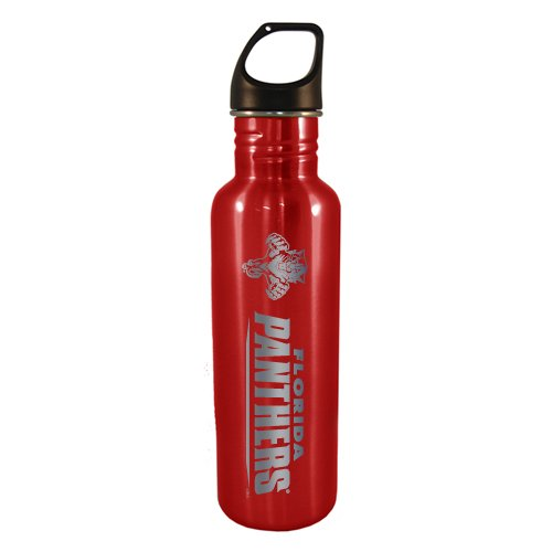 fan products of NHL Florida Panthers 750-ml Stainless Water Bottle (Red)