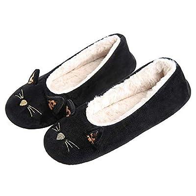 GaraTia Women's Plush Winter Warm Animal Soft Cute Home Slippers